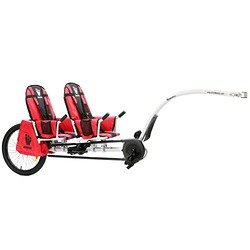 Weehoo iGo Pro Tag Along 2 Child Bicycle Trailer