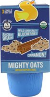 Little Duck Organics Mighty Oats Instant Super Cereal Ancient Grain Wild Blueberries and Cinnamon