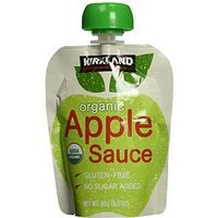 Kirkland Signature Organic Applesauce Pouches