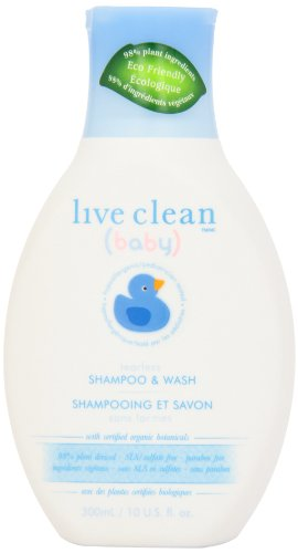 Live Clean Baby Tearless Shampoo & Wash