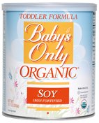 Baby's Only Soy Organic Toddler Formula