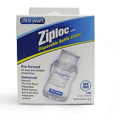 The First Years Ziploc Brand Disposable Bottle Liners
