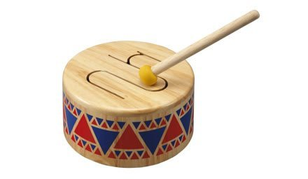 Plan Toys Solid Wood Drum