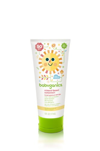 Babyganics Mineral-Based Sunscreen SPF 50