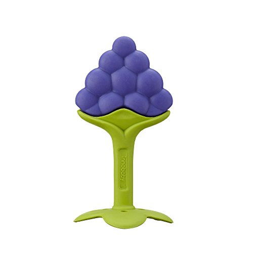 Innobaby Teethin' Smart Ez Grip Massaging Teether, Grape