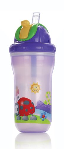Nuby No-Spill Straw Sippy Cup