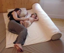 Humanity Family Sleeper Co-sleeping Pad and Maternity Body Pillow