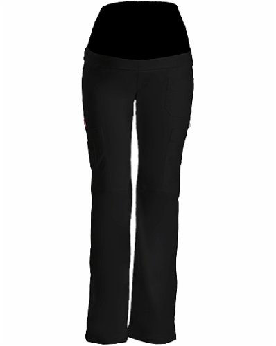 Dickies Medical Scrubs Women's Maternity Knit Waist Pull-On Scrub Pant