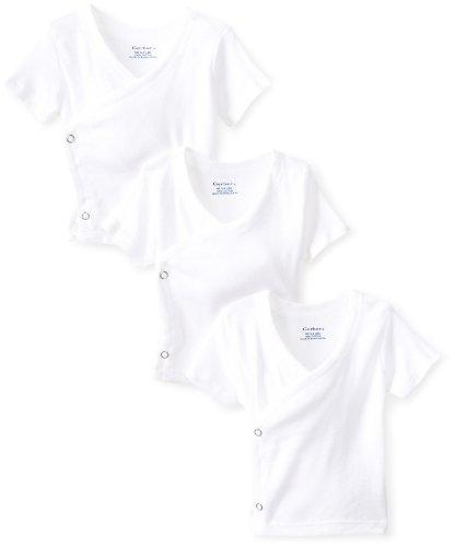 Gerber Newborn Short Sleeve Side Snap Shirt
