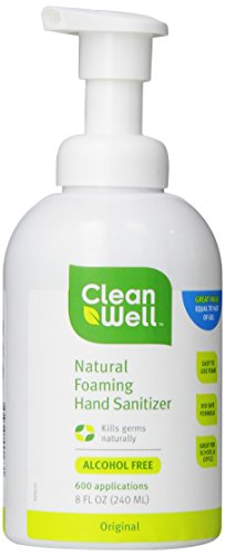 Cleanwell All natural Foaming Hand Sanitizer