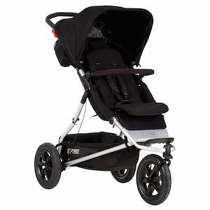 Mountain Buggy Plus One Inline Double Stroller with Second Seat