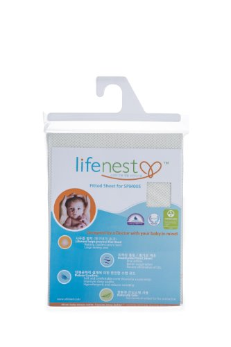 Ubimed Breathable Fitted Sheet for Lifenest