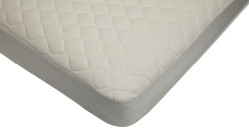 American Baby Company Organic Waterproof Quilted Fitted Crib Pad Cover