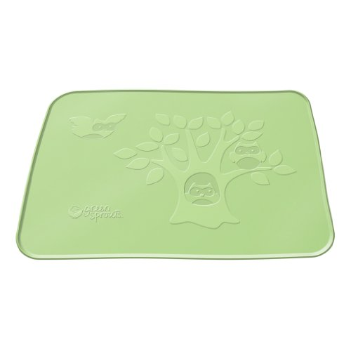 green sprouts Silicone Placemat