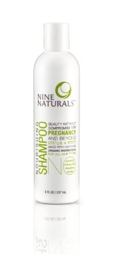 Nine Naturals Citrus + Mint Nourishing Pregnancy Shampoo