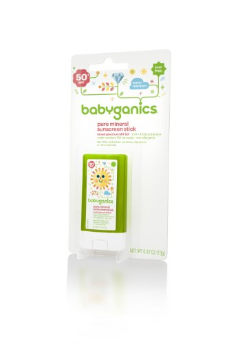 BabyGanics Cover Up Baby Sunscreen Stick 50 SPF