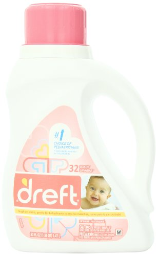 Dreft 2x Ultra Baby Liquid Laundry Detergent