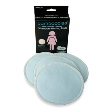 Bamboobies Overnight Washable Nursing Pads