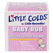 Little Remedies Little Colds Baby Rub Soothing Ointment