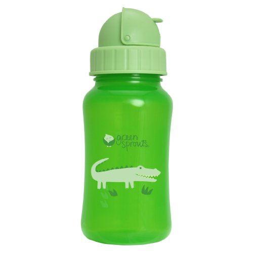 green sprouts 10-Ounce Aqua Bottle