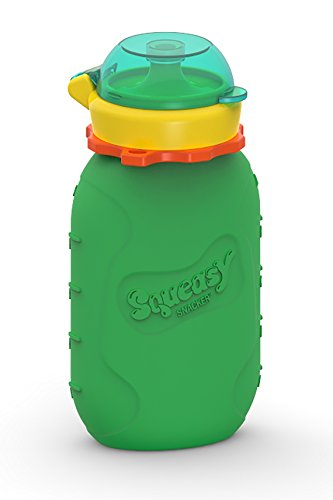 Squeasy Snacker Silicone Reusable Food Pouch
