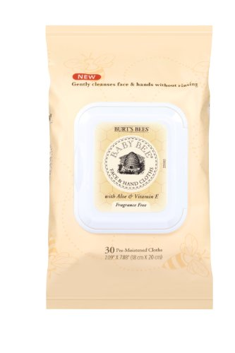 Burt's Bees Baby Bee Face and Hand Cloths