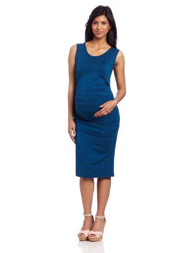 Ingrid & Isabel Women's Pleated Maternity Tank Dress