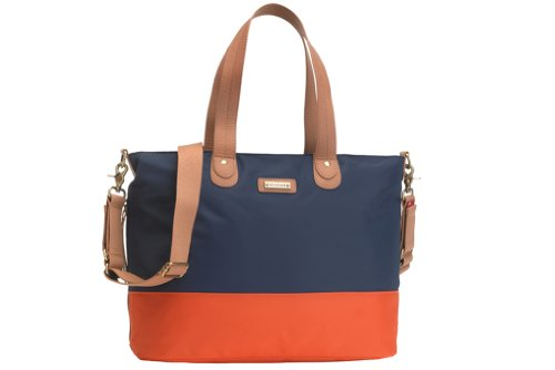 Storksak Color Block Tote Diaper Bag