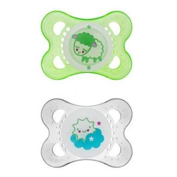 MAM NIGHT Silicone Pacifiers