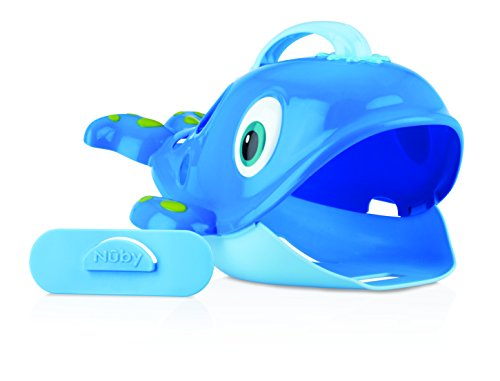 Nuby Whale Pail bath toy scooper