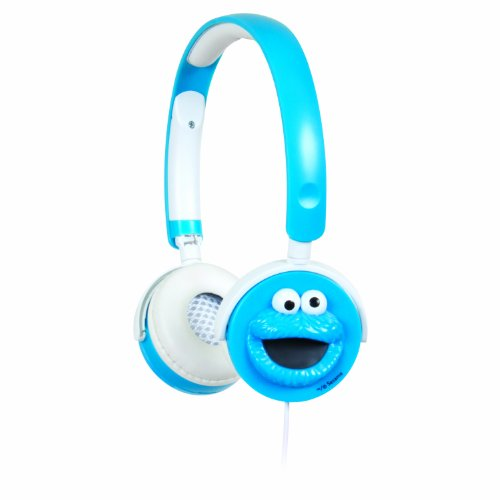 iSound Sesame Street Headphones - 3D Cookie Monster