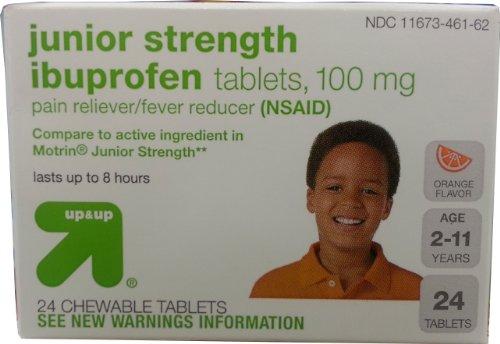 Up&Up Junior Strength Ibuprofen Tablets 100mg