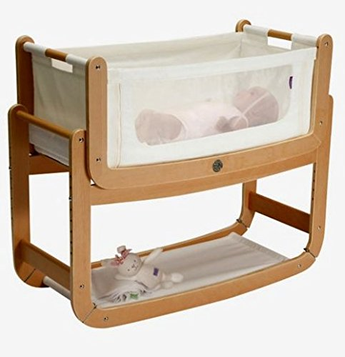 SnuzPod² 3 in 1 Co-Sleeper and Bedside Crib & Natural Mattress