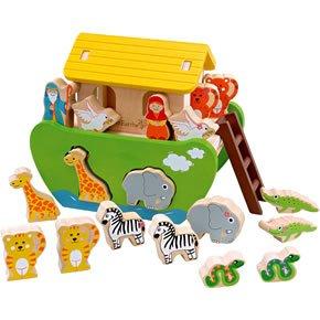 Maxim Toys Noah's Ark Wooden Toy