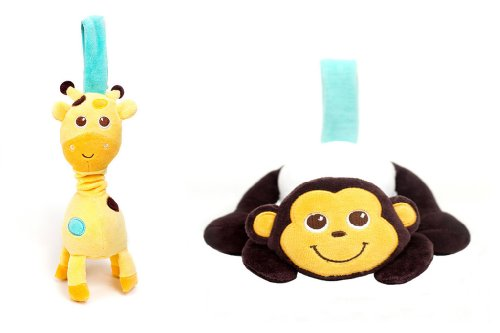 Babee Talk - Eco-buds Take-along Pals Set
