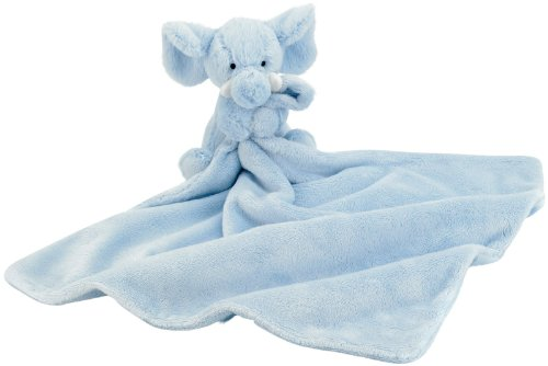 Jellycat Blue Elly Soother Blankie