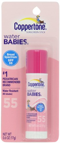 Coppertone Water Babies Sunscreen Stick, SPF 55