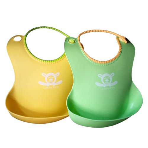 Food Catcher Pocket Baby Bib