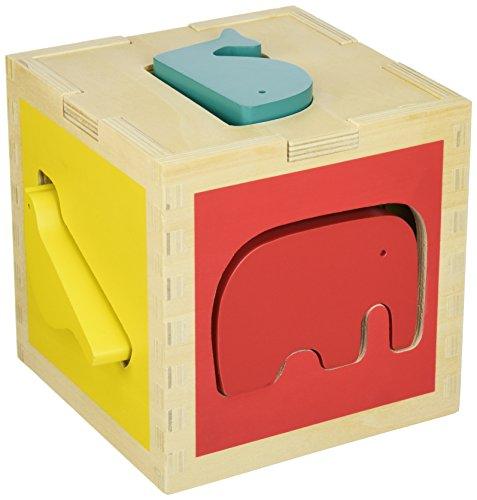 DwellStudio Zoo Shape Sorter