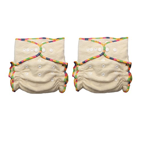 Heavy Wetter Hemp Organic Cotton Fitted Cloth Diapers