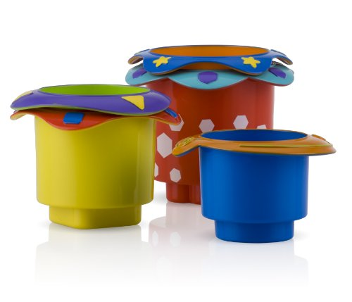 Nuby Splish Splash Stacking Bath Cups