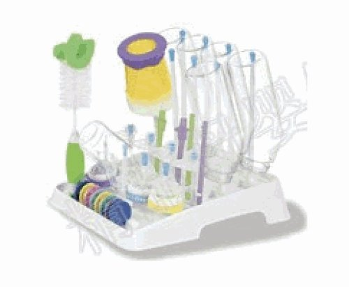 Munchkin Bottle Drying Rack And Brush Set