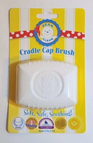 Bean-B-Clean Baby Scalp Massaging Brush for Cradle Cap