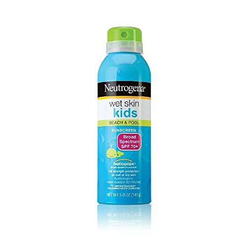 Neutrogena Wet Skin Junior Sunblock Spray SPF 70