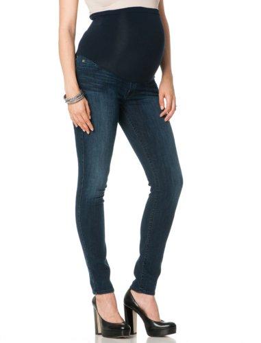 7 For All Mankind Cigarette Secret Fit Belly Signature Pocket Skinny Leg Maternity Jeans