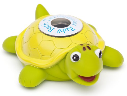 Turtlemeter Bath Toy and Bath Tub Thermometer