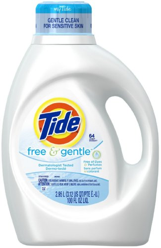 Tide Free & Gentle Liquid Detergent