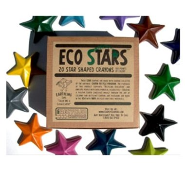 Crazy Crayons Eco Stars Recycled Wax Crayons