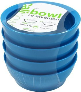 Calibowl Non-Spill Low Profile Bowl with Non-Slip Base