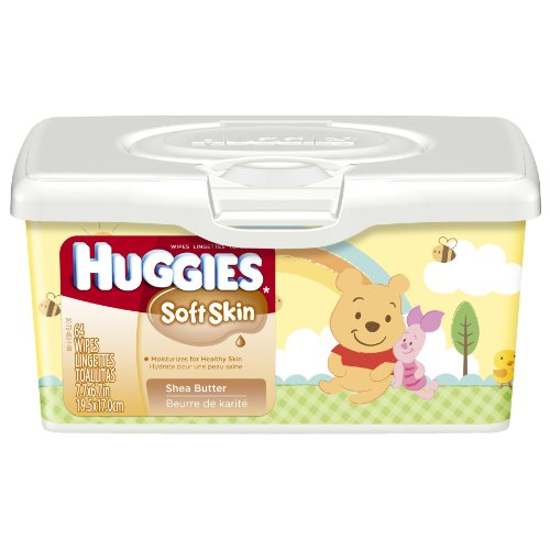 Huggies Soft Skin Baby Wipes Tub